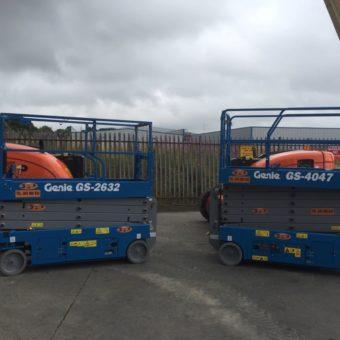 GS 4047- Latest Additions to Fleet at Boom & Platform Hire Ltd.