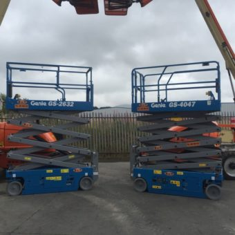 GS 4047 Scissor Lift - Latest Additions to Fleet at Boom & Platform Hire Ltd.