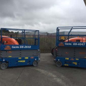Genie 4047 - Latest Additions to Fleet at Boom & Platform Hire Ltd.