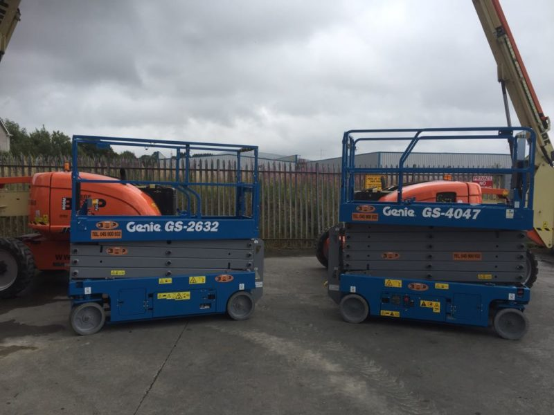 Genie 4047 - Latest Additions to Fleet at Boom & Platform Hire Ltd.