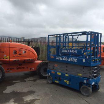 Genie GS 4047 - Latest Additions to Fleet at Boom & Platform Hire Ltd.