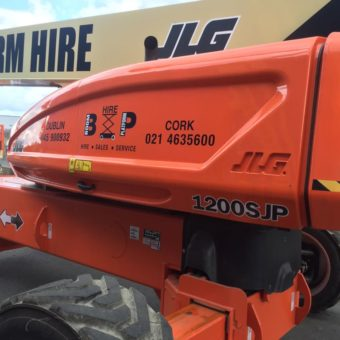 JLG Ultra Boom 1200SJG - With Onboard Generator- Available for hire