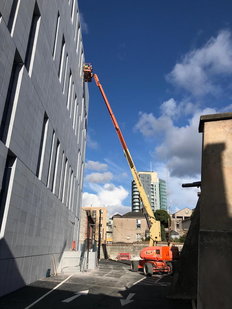 Boom at height in Cork