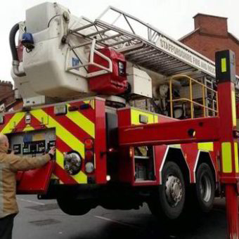 Cherry Picker - Fire Brigade