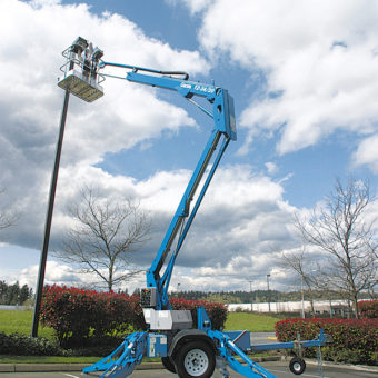 Tree Trimming Cherry Picker
