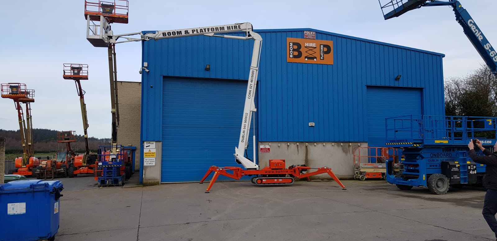 Spider Lift Hire