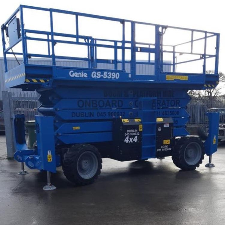 Scissor lift hire Ireland