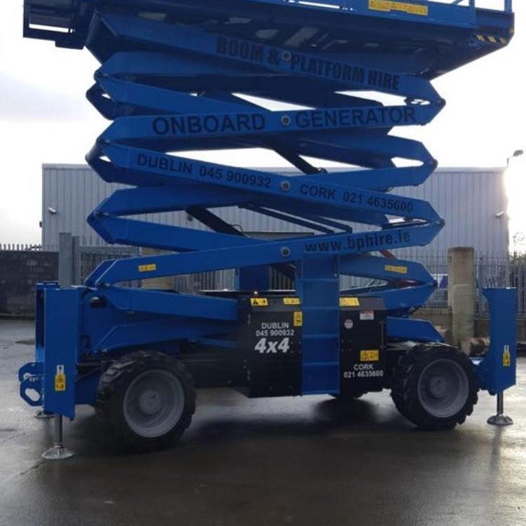 Scissor lift hire Wicklow
