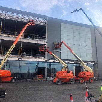 JLG Telescopic Booms over employed!