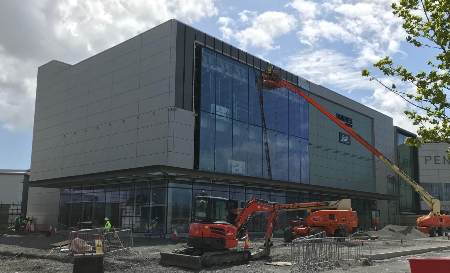 Pennys in Cork on Site