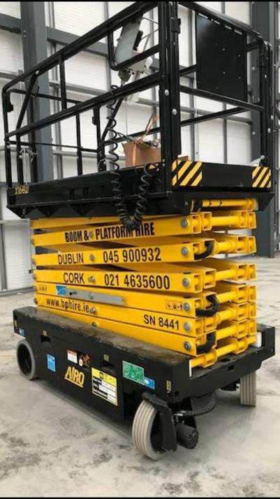 Scissor lift hire Cork